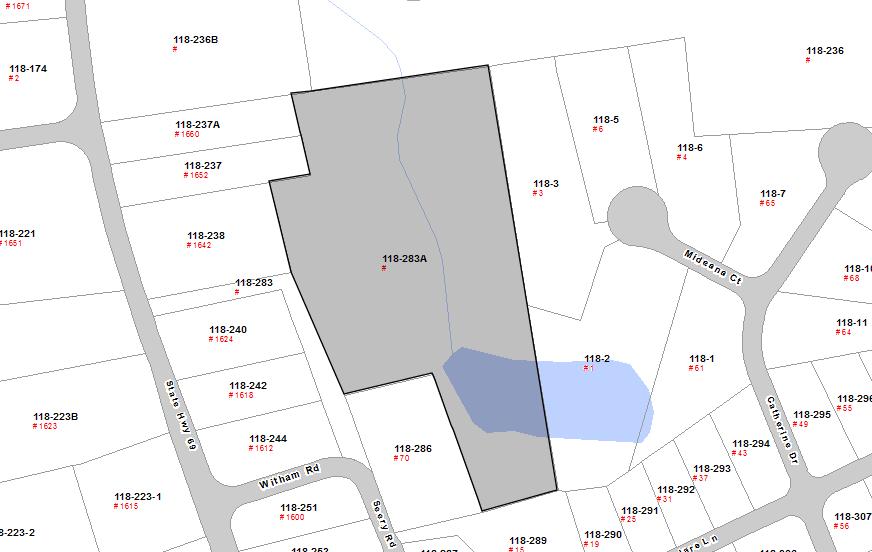 Russell Preserve GIS Parcel Map Wolcott Land Conservation Trust - Us parcel map